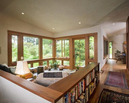 Best Half Wall Bookshelf Design Ideas Amp Remodel Pictures