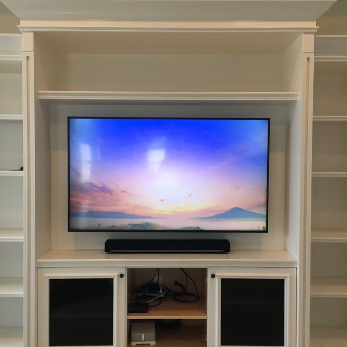 TV Installations with Sound Bar