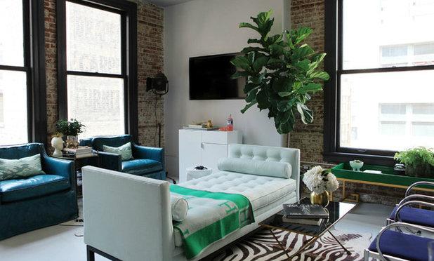 Modern Wohnbereich by Caitlin & Caitlin Design Co.
