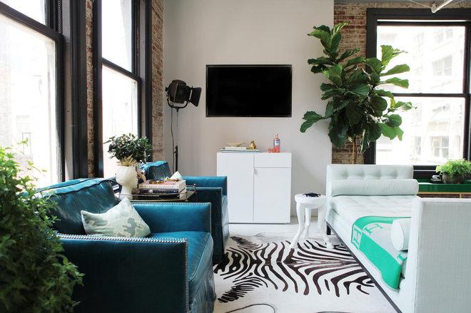 Phòng khách hiện đại của Caitlin & Caitlin Design Co.