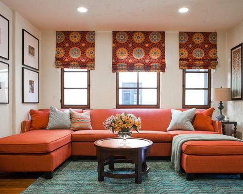 orange couch - Orange Couch