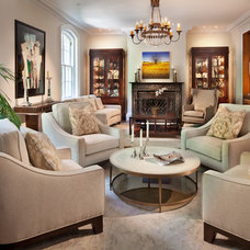 Traditional Living Room by Morgan Howarth Photography
