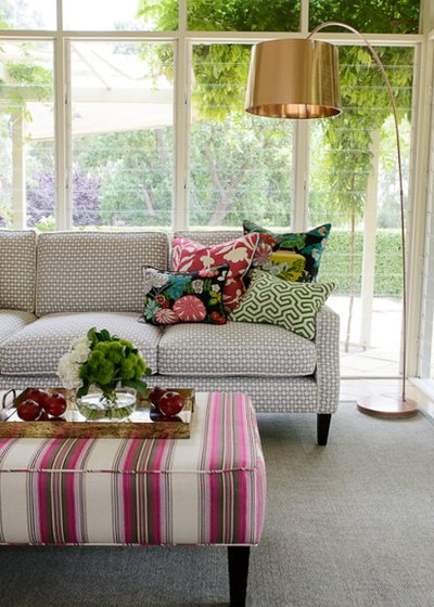 Transitional Living Room by Ioanna Lennox Interiors