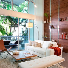 Contemporary Living Room by DKOR Windows & Walls