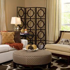contemporary living room by Jace Interiors & CreateGirl Blog