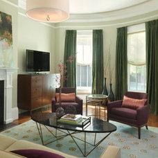 Contemporary Living Room by Rachel Reider Interiors