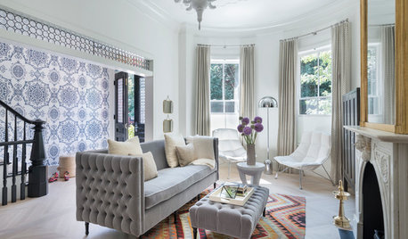 Houzz Tour: High Style With Kids in a 4-Level Boston Townhouse