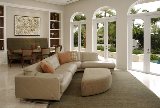Modern Living Room by Kendall Marcelle Design Assoc. Inc.