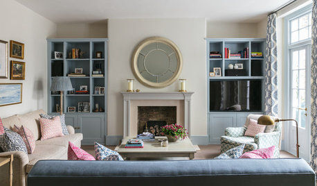 Houzz Tour: A Dated Flat Regains Period Elegance and Light
