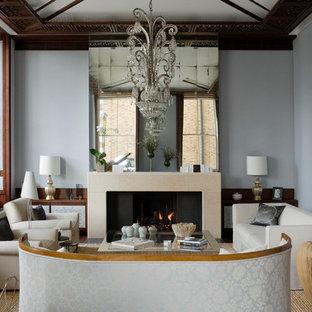 Esempio di un soggiorno moderno