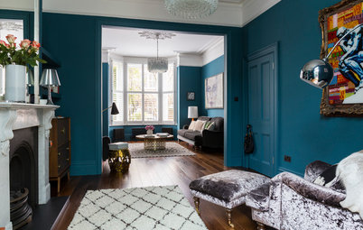 My Houzz: A Classic Victorian Home in London Gets a Colourful Makeover
