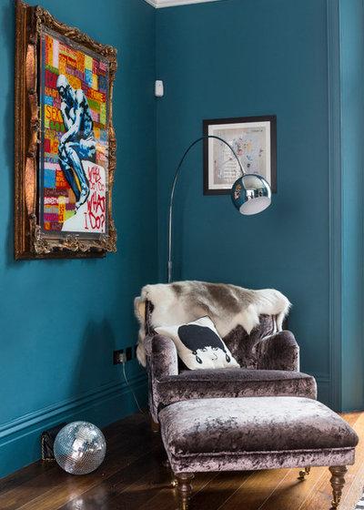 Contemporary Vardagsrum by Chris Snook