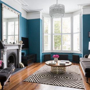 Modernes Wohnzimmer in London