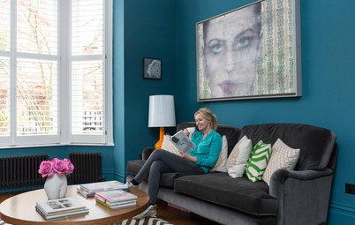 Visita privada: La colorida renovación de una casa victoriana