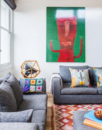 Éclectique Salon by Studio Stamp