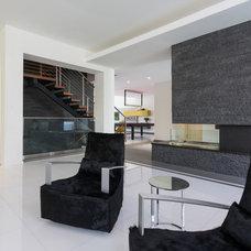 Contemporary Living Room by Touzet Studio