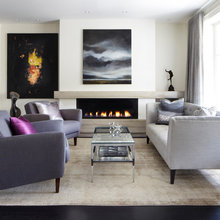 Fireplaces & living rooms
