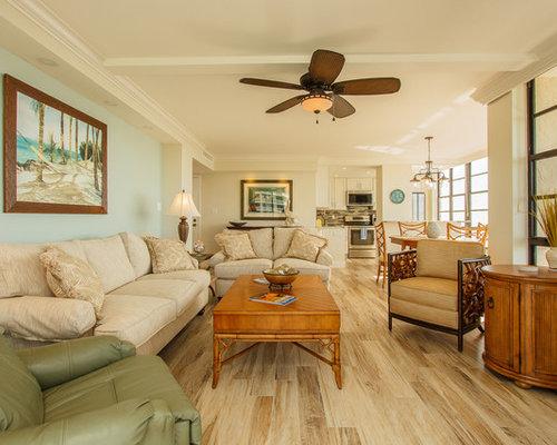 Tropical living room design ideas remodels photos houzz for Tropical living room furniture
