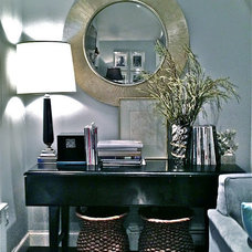 Traditional Living Room by South Shore Decorating