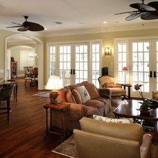 Mediterranean Living Room by Devonshire Custom Homes