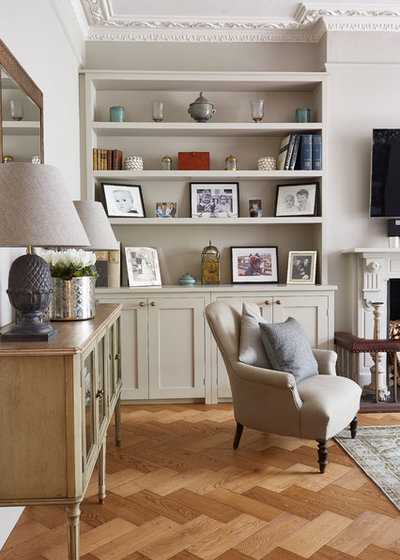 Traditional Living Room by Blakes London