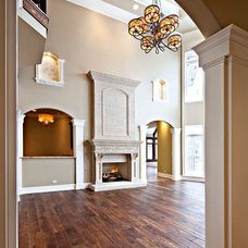 Traditional Living Room by Southampton Builders