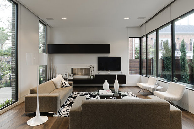 Modern Living Room by CONTENT Architecture