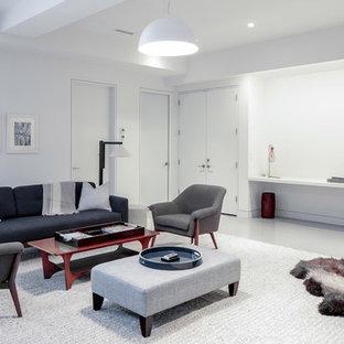 Soggiorno con pavimento in marmo New York - Foto e Idee per Arredare