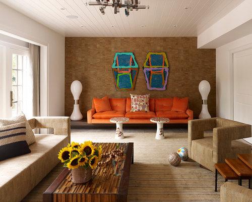 Multiple Seat Home Design Ideas Renovations amp Photos : 69316791069fb6b57484 w500 h400 b0 p0 midcentury living room from www.houzz.com.au size 500 x 400 jpeg 46kB