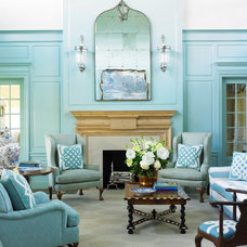 Beach Style Living Room by Anthony Baratta LLC