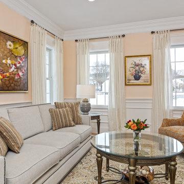 Southborough Residence - Living Room