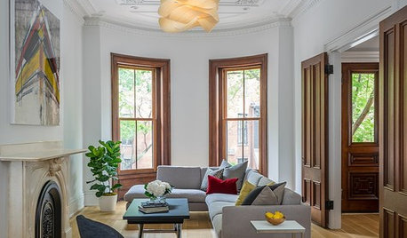 Houzz Tour: Boston Row House Updated for Modern Family Life