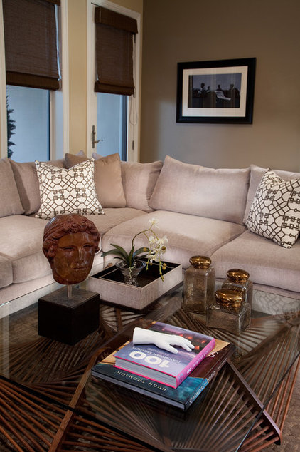 Contemporary Living Room by ELEVATE interiors + design
