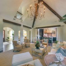 Beach Style Living Room by Georgia Coast Design & Construction