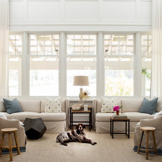 Transitional Living Room by Southern Living