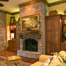 Traditional Living Room by Terry M. Elston, Builder
