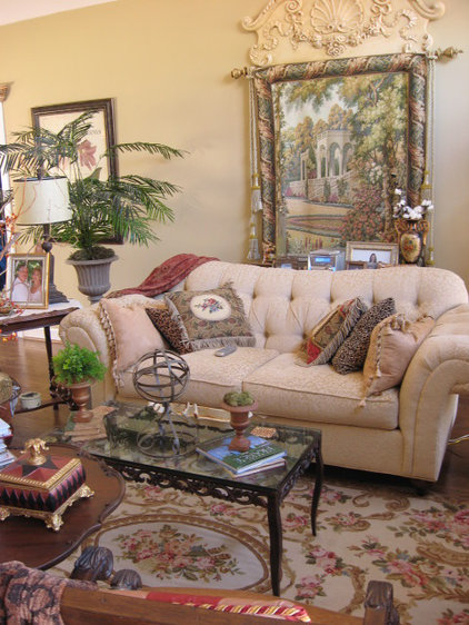 Traditional Living Room by Southern Hospitality