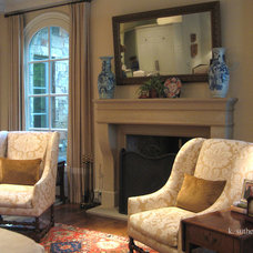 Traditional Living Room by k.sutherland design