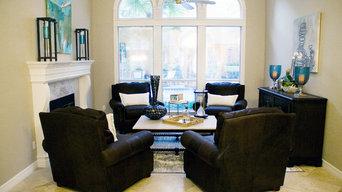 "Southlake, TX - Bachelor's Home "" After"" Living Room/Cigar Room"