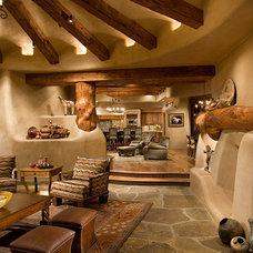 Mediterranean Living Room by Urban Design Associates