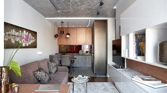 Современная квартира для холостяка в ЖК Сердце Каспия