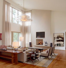 contemporary living room by Cravotta Interiors