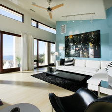 Contemporary Living Room by Sage Architecture, Inc.