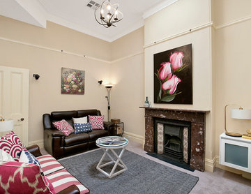 Space, light and classic elegance in premier Glebe address