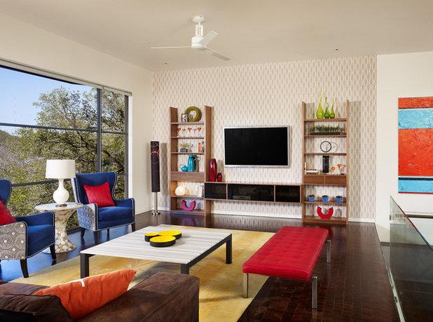 Eclectic Living Room by Spaces Designed, Interior Design Studio, LLC