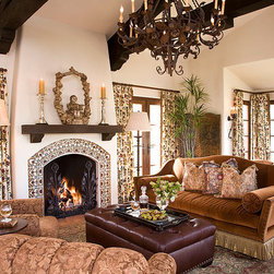 Spanish Colonial - Interior Design by Kyser Interiors (www.kyserinteriors.com)
