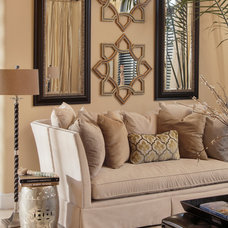 Contemporary Living Room by Heidi Rawson Design