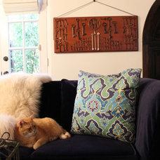 Mediterranean Living Room by 22 INTERIORS