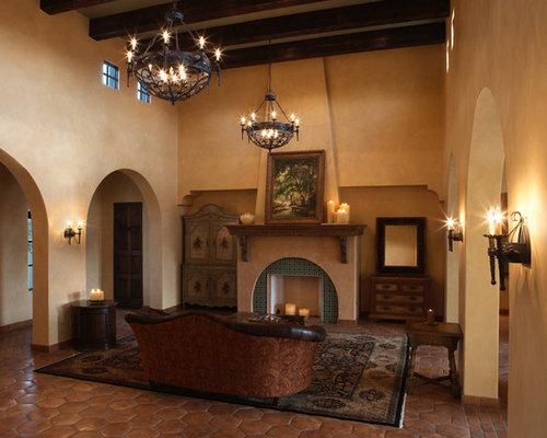 Mexican Hacienda Style Home Design Ideas Pictures