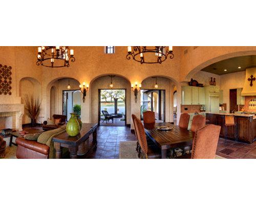Hacienda Style Interiors Houzz
